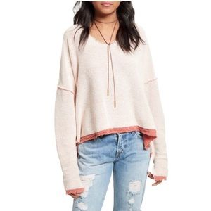 Free People Oversized Dolman Pullover Sweater